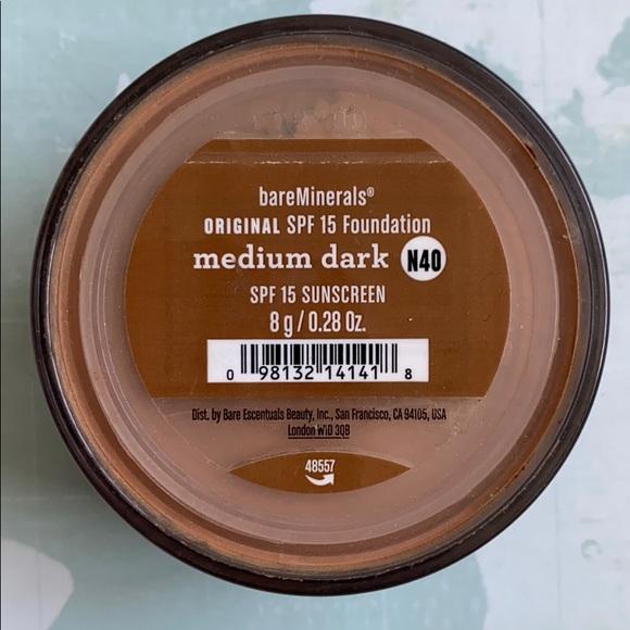 bareMinerals Other - Bareminerals original foundation medium dark spf15